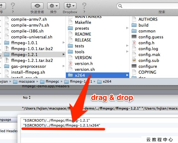 Compile ffmpeg for iOS 6, support Simulator & armv7 & armv7s - IT閱讀