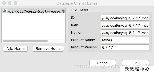 Mac DBeaver Client home is not specified for connection解決辦法- IT閱讀